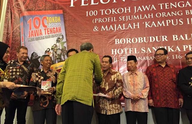 Rektor Unnes Masuk 100 Tokoh Berpengaruh Jawa Tengah