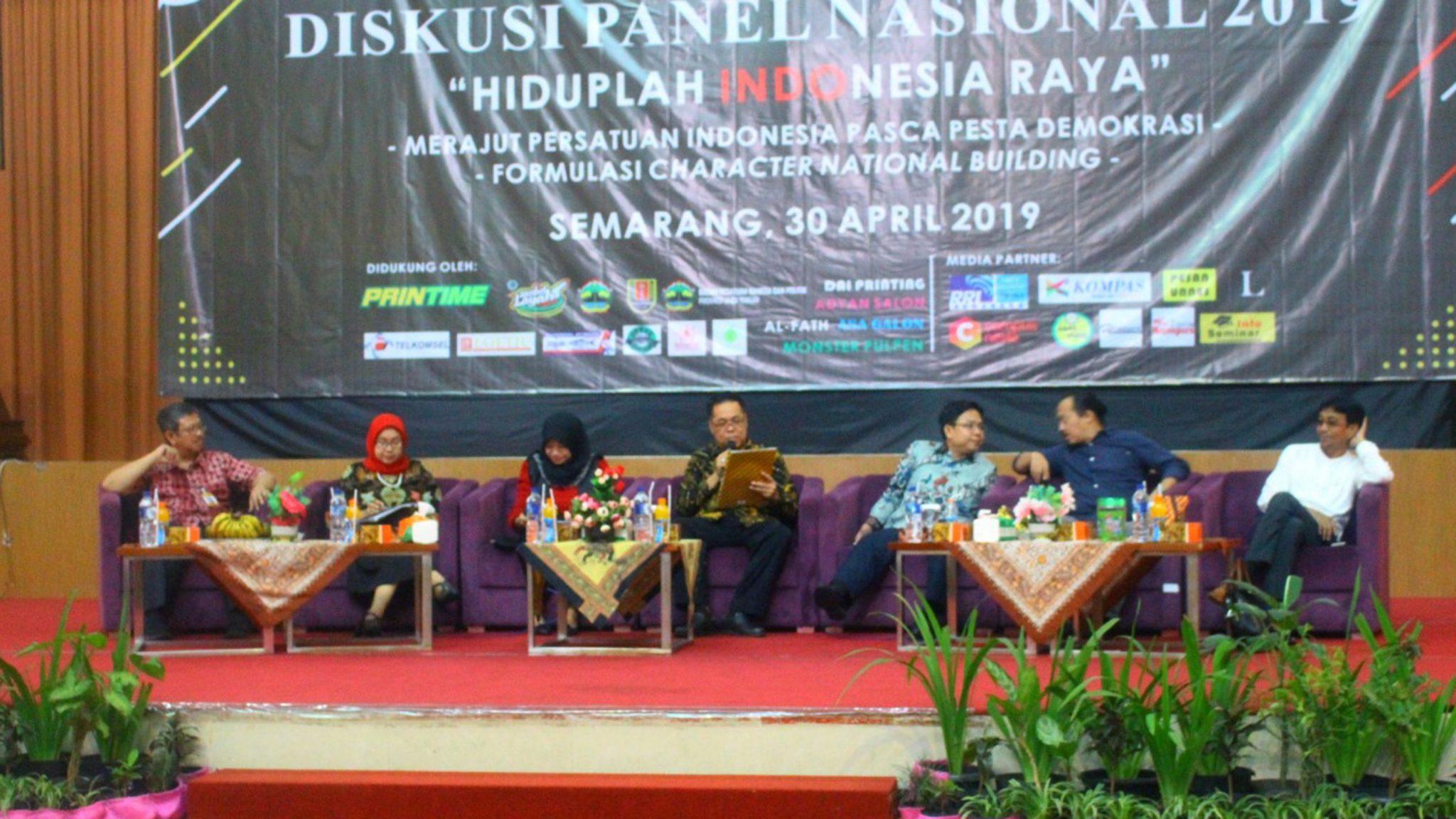 "Diskusi Panel Nasional 2019 : ""Hiduplah Indonesia Raya"""