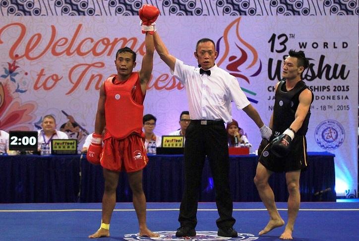 Mahasiswa Unnes Raih Emas dalam Kejuaraan Wushu Dunia