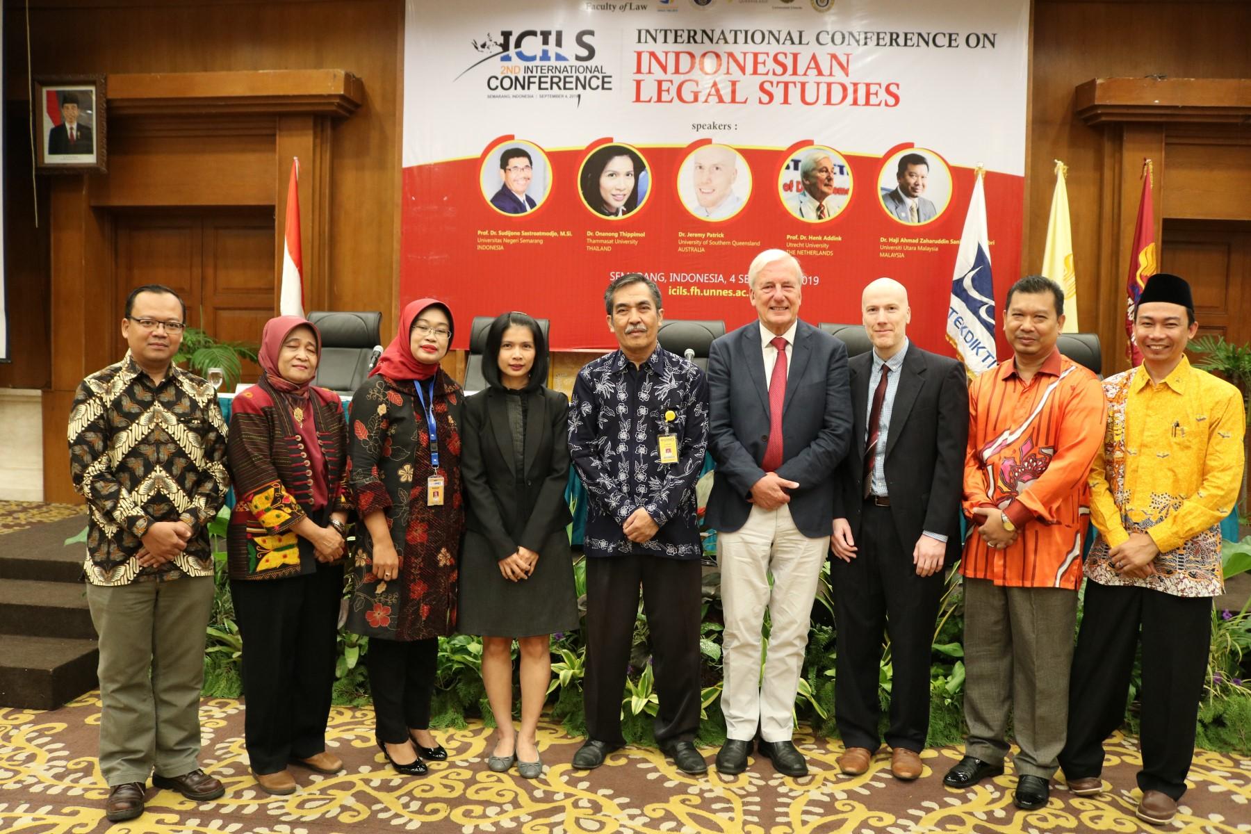 Percepat Internasionalisasi, FH UNNES selenggarakan ICILS