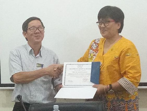 HCMC University of Education Vietnam Undang Dosen dan Mahasiswa FIK UNNES Jadi Dosen Tamu dan Ikuti Sit-in