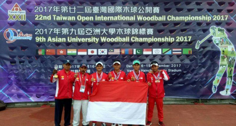 Kado Akhir Tahun, Tim Woodball UNNES Bentangkan Merah Putih di Kancah Internasional