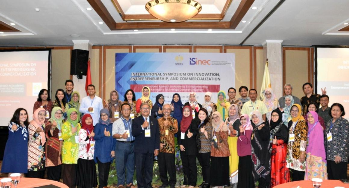Perkuat Inovasi LPPM Gelar International Symposium on Innovation, Entrepreneurship and Commercialization