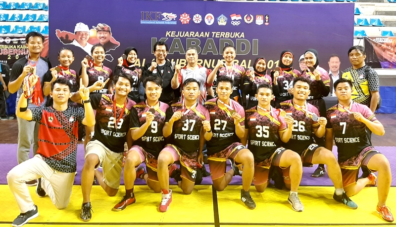 Mahasiswa UNNES Peroleh  4 Medali Kejurnas Kabaddi Di Bali