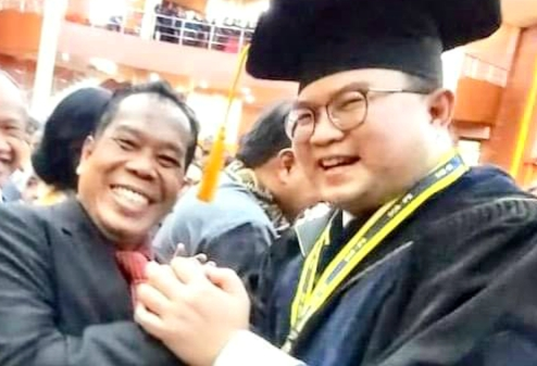 Rektor UNNES Hadiri Pengukuhan Profesor Rektor IPB