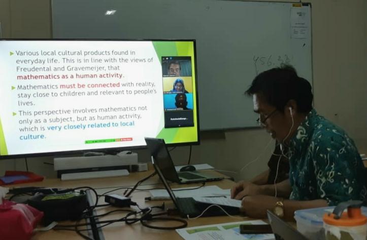 WR 1 UNNES Presentasi Daring Pada Icedu Bangkok