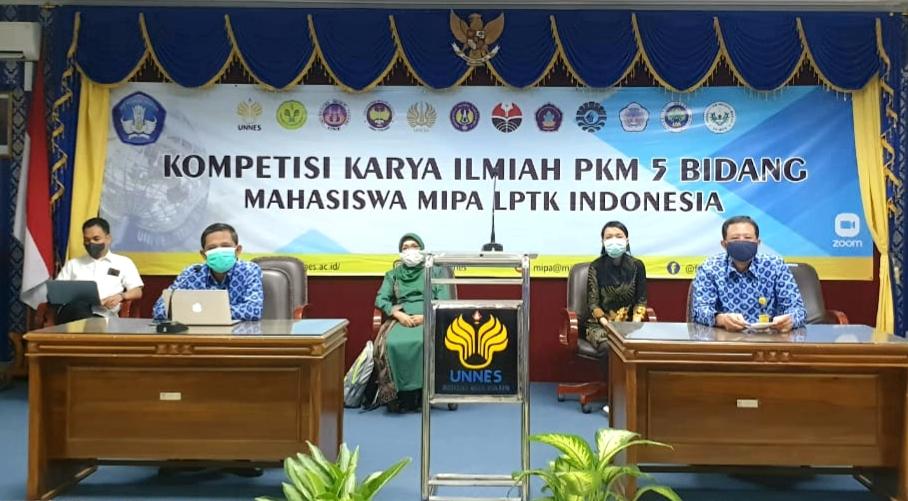 Kompetisi PKM MIPA LPTK Indonesia di UNNES