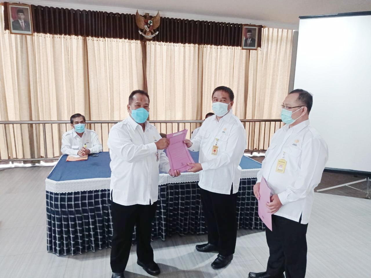 Dr Yusro Edy Nugroho SS MHum Dilantik Jadi Kepala UPT Perpustakaan