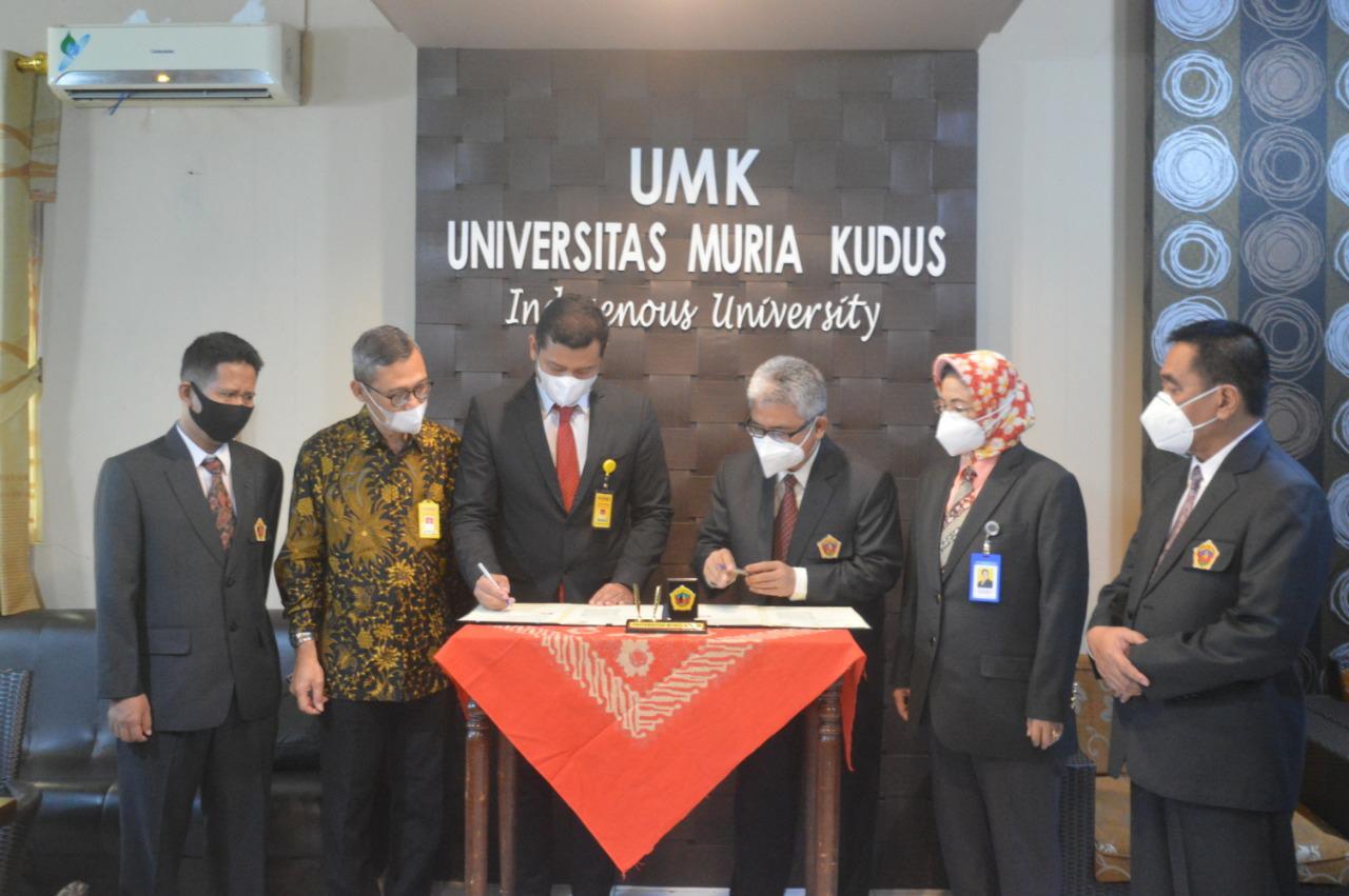 Tingkatkan Kualitas Mahasiswa, UMK Gandeng UNNES Implementasikan MBKM