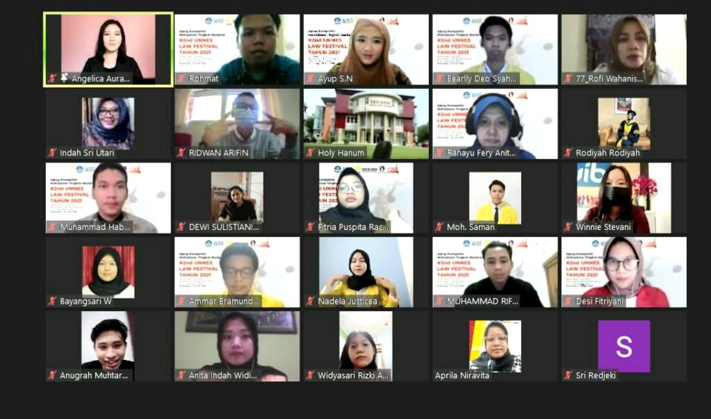 FH Dorong Prestasi Mahasiswa Melalui 2nd UNNES Law Festival
