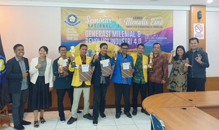 Sajikan Gagasan Bertajuk Kearifan Lokal, Bagja Riyanto Juarai LEN di UKI Jakarta