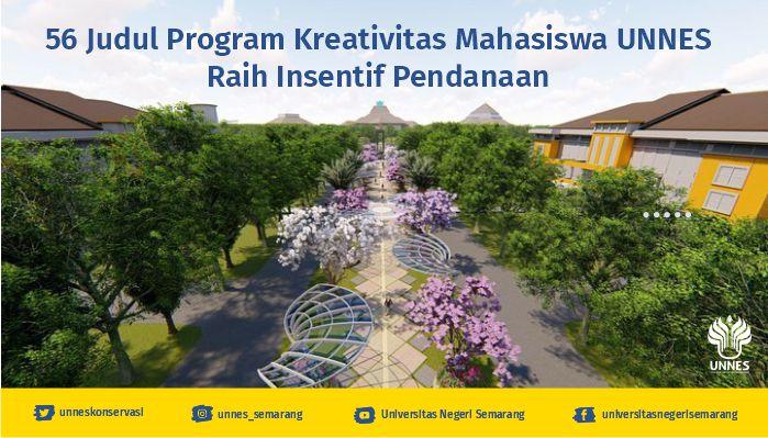 56 Judul Program Kreativitas Mahasiswa (PKM) UNNES Didanai