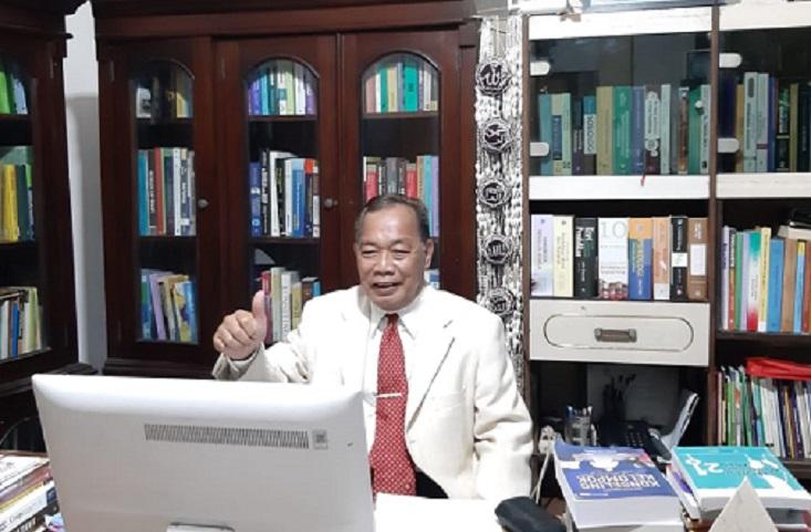Prof Mungin Lantik Pengurus Besar MGBK Indonesia 2020 – 2025