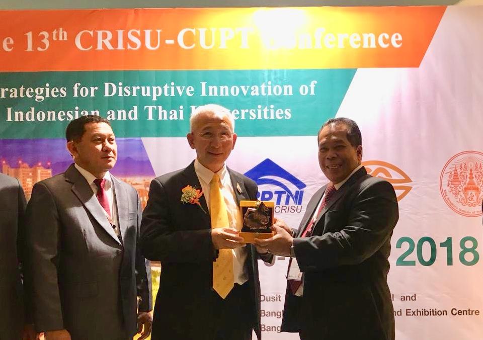 UNNES Delegation Attending CRISU-CUPT Conference in Bangkok