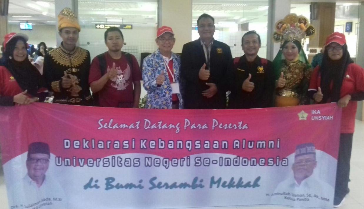 Di Aceh, 20 IKA PTN Gelar Deklarasi Kebangsaan