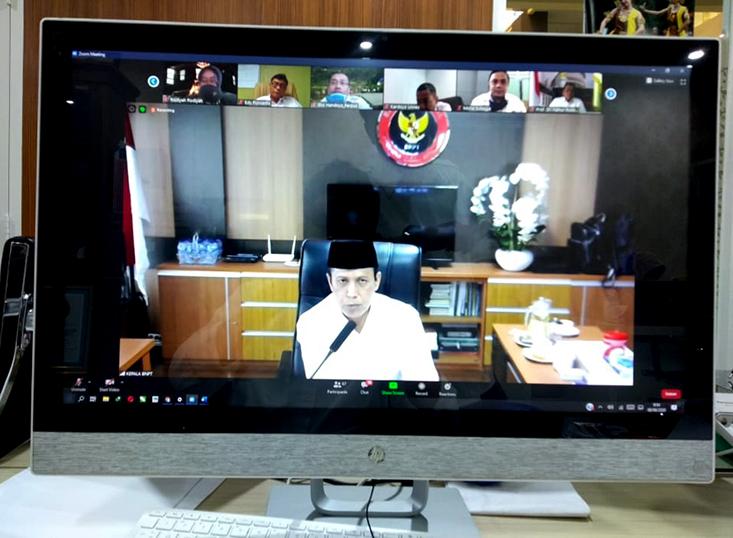 Silaturahmi dan Temu Sapa Kepala BNPT, Komjen Pol Boy Rafli Amar: Jadilah Pionir Pancasila