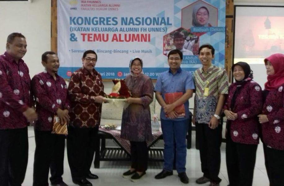 Alumni FH Siap Sukseskan Internasionalisasi UNNES