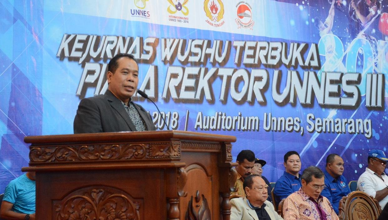 328 Atlet Wushu Ikuti Kejurnas Piala Rektor UNNES Ke-3