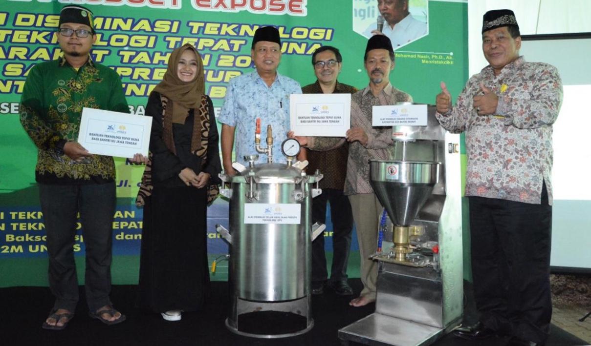 Menristekdikti Launching    Teknologi Tepat Guna LP2M UNNES
