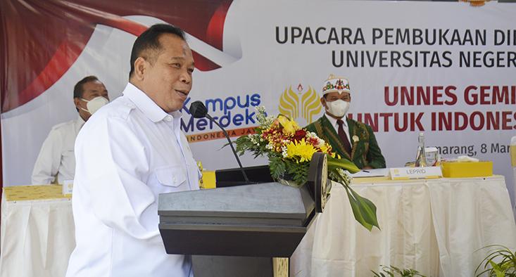 Pembukaan Dies Natalis ke-56, Rektor Sampaikan 7 Kegemilangan UNNES .