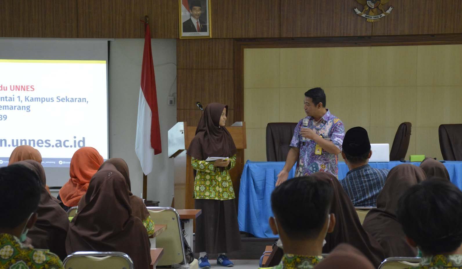 Antusias Siswa MAN 4 Bantul Yogyakarta
