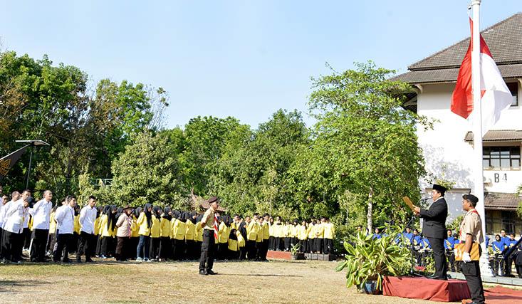 Peringati Hari Sumpah Pemuda, Rektor UNNES Bacakan Pidato Menteri Pemuda dan Olahraga Republik Indonesia