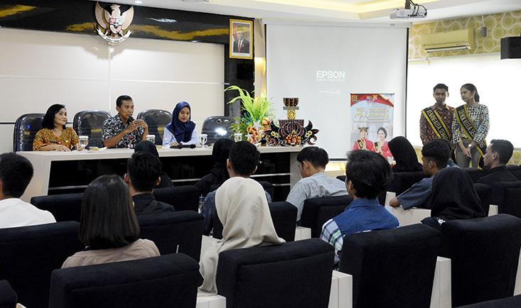 Disbudpar Kota Semarang Sosialisasikan Denok Kenang Semarang 2020 di UNNES