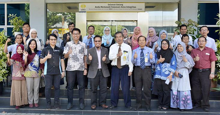 8 Dosen UiTM Malaysia Lakukan Riset Kolaborasi Di UNNES