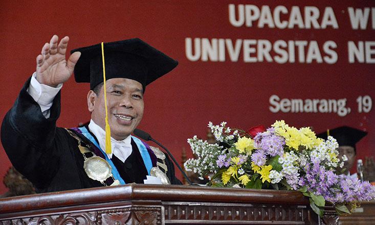 Rektor UNNES: Tiga Kunci Untuk Jadi Orang Sukses