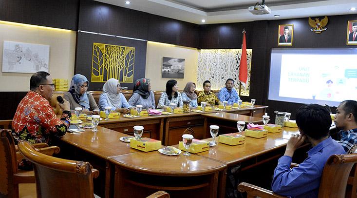 Universitas Brawijaya Studi Banding ke UNNES