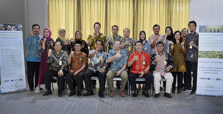 FE UNNES Tuan Rumah Partnership Meeting 7th GITA Erasmus