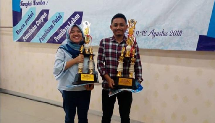 Tangkai Tulis Cerpen dan Puisi, Mahasiswa UNNES Wakili Jateng ke Peksiminas