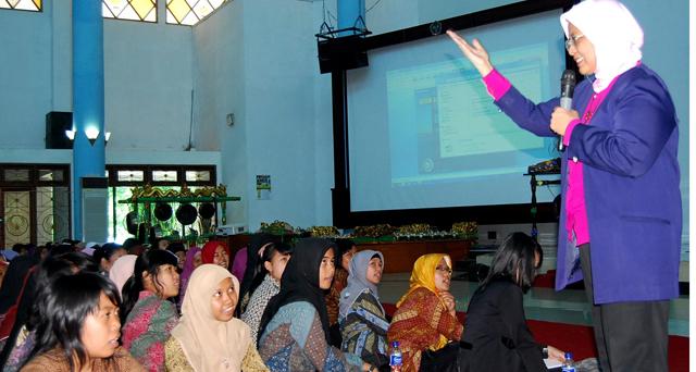 Marwah Daud pun Ingin Belajar Konservasi