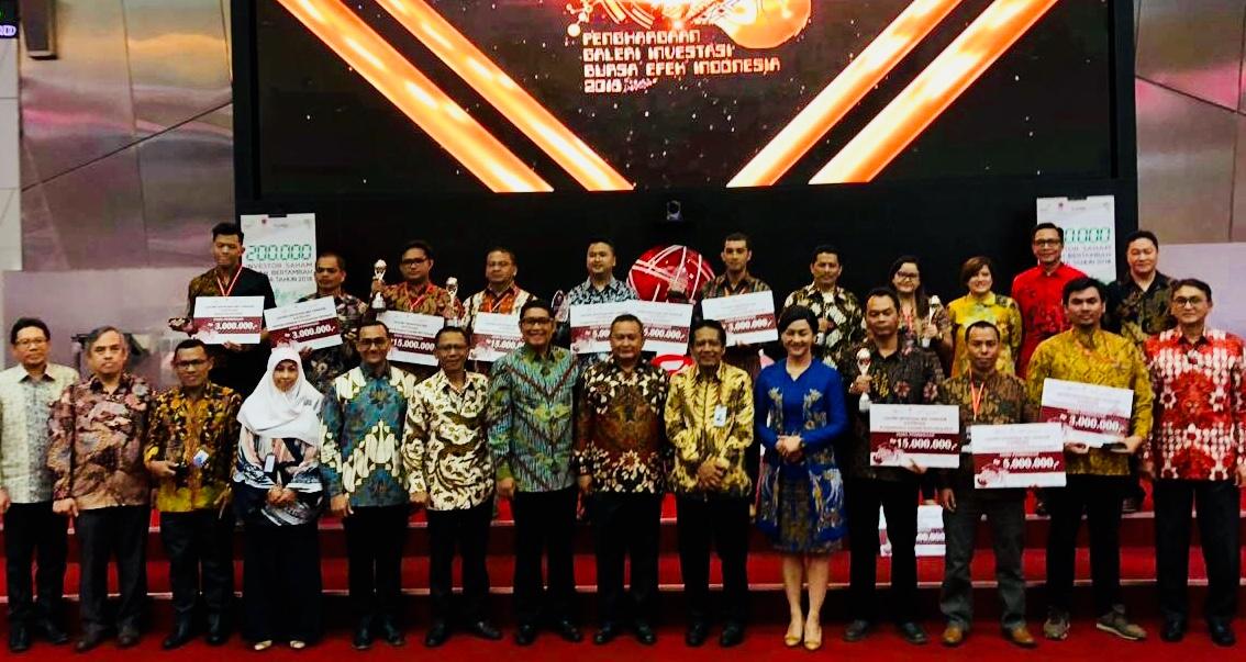Galeri Investasi FE UNNES, Raih Penghargaan Bergengsi Bursa Efek Indonesia Jakarta