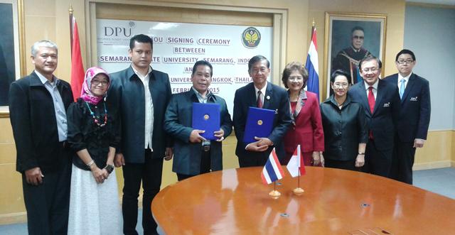 Unnes Jalin Kerja Sama dengan Dhurakij Pundit University Thailand