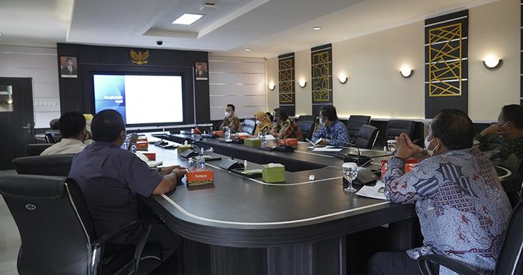 Terima Entry Meeting Evaluasi ZI WBK dan Uji Petik Audit dari Inspektorat Jenderal, Rektor; UNNES Berkomitmen Ciptakan Tata Kelola Bersih