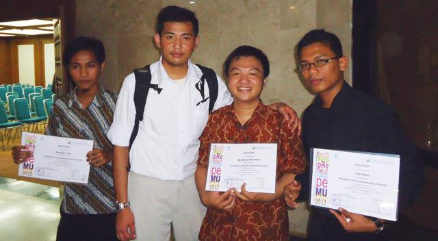 Unnes Peringkat II Lomba Technopreneurship