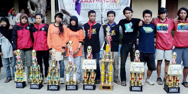 Tim SAR dan Mahapala Unnes Borong Juara