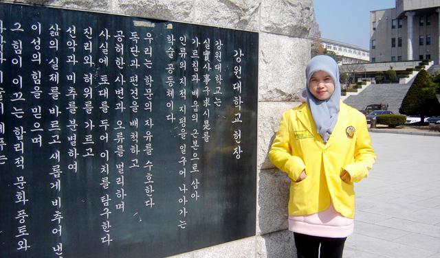 Surat Cinta Kasih Umi Lestari dari Korea