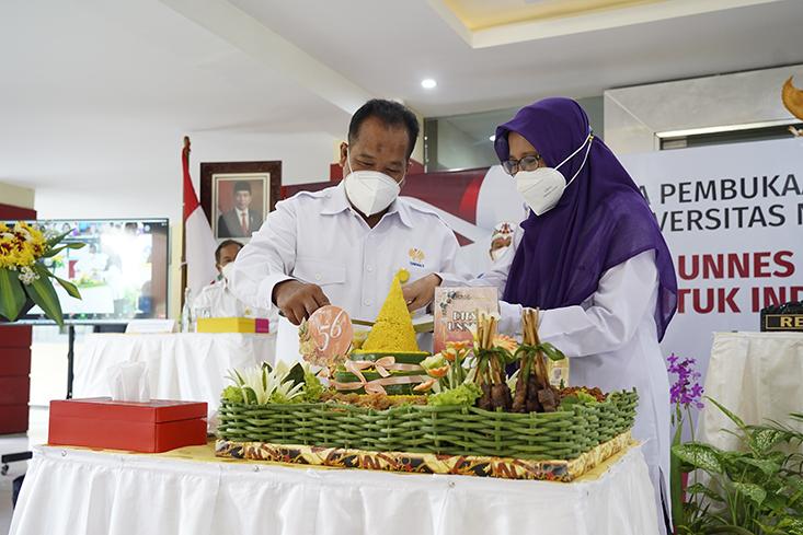 Dies Natalis Ke-56, UNNES Gemilang Untuk Indonesia Maju
