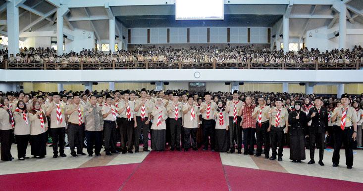 OKPT UNNES 2019, Majulah Pandunya Pramuka menuju Generasi Emas