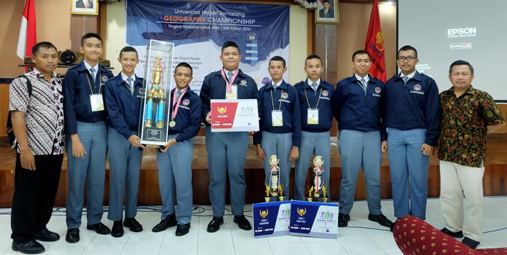 FIS Selenggarakan Geography Championship V, SMA Taruna Nusantara  Juara Umum
