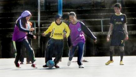 Subguguslatih PGSD Ngaliyan Borong Juara Futsal