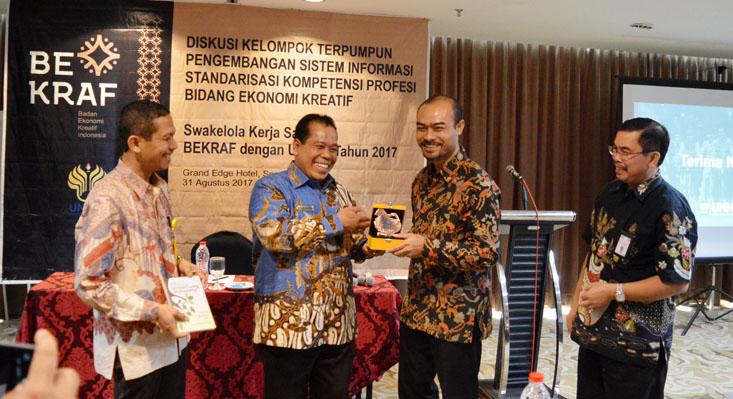 Tingkatkan Kerjasama UNNES-Bekraf, Perluas Subsektor Ekonomi Kreatif
