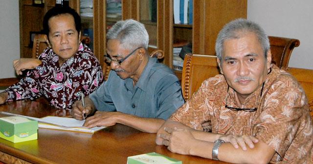Drs Sutrisno Kabag Akuntansi BAPK Pensiun