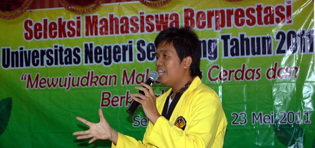 Seleksi Pemilihan Mapres 2011
