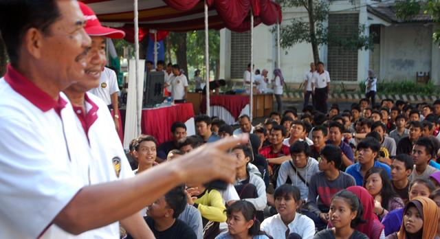 Rektor: Banyak yang Rugi jika Mahasiswa Tawur