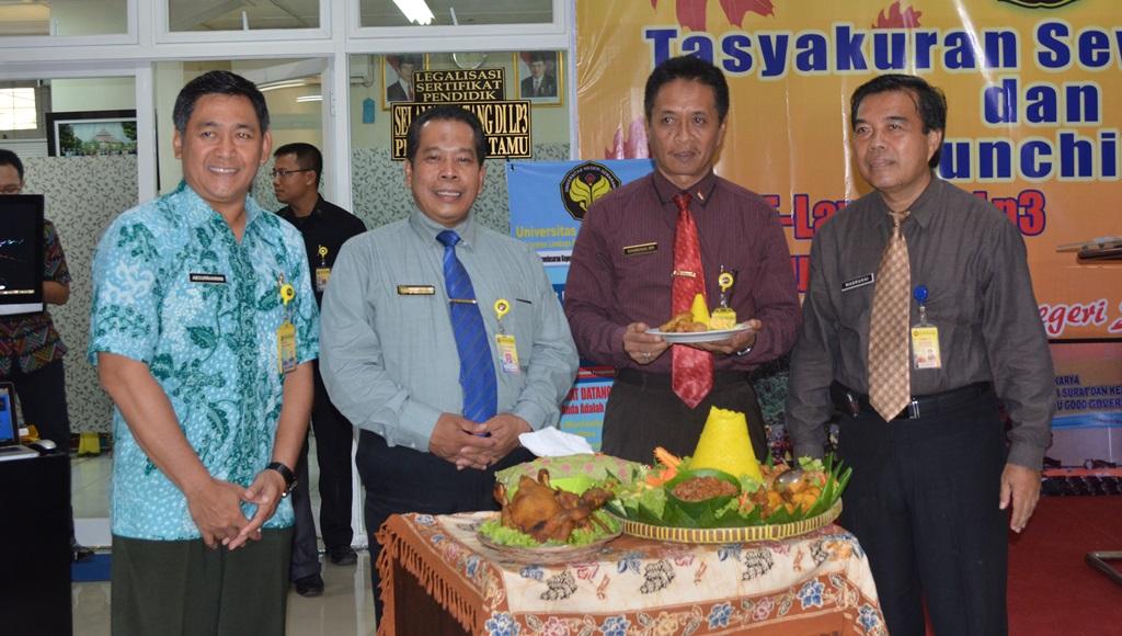 Sewindu, LP3 Launching E-Layanan