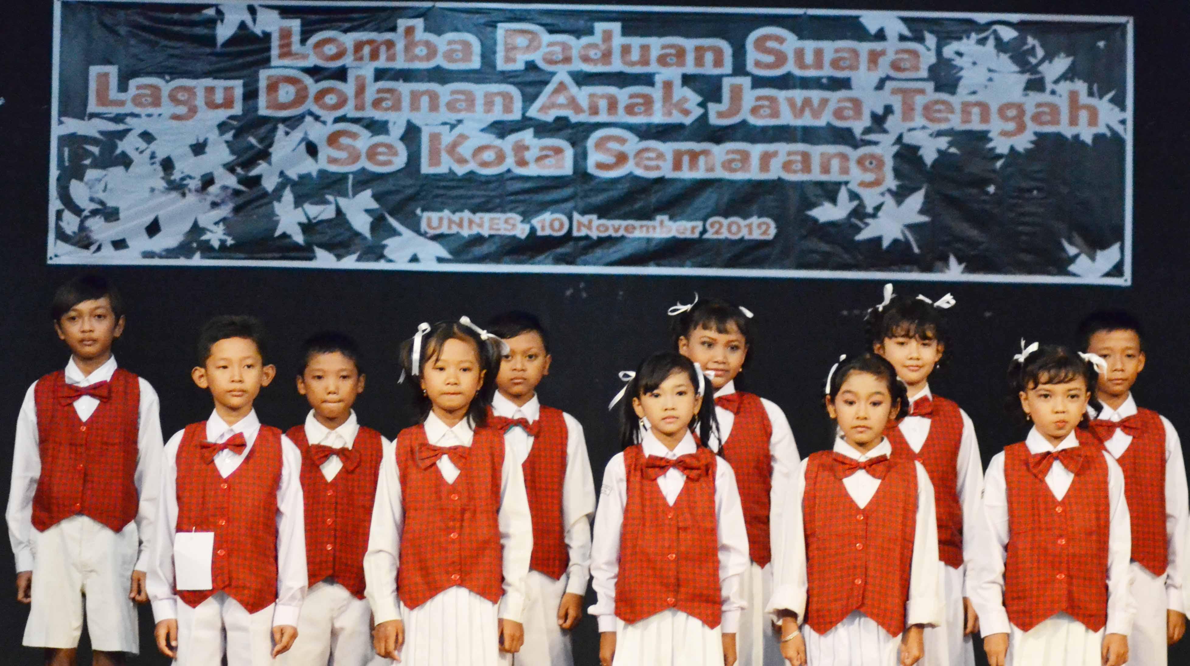 Lomba Paduan  Suara Lagu Dolanan Anak