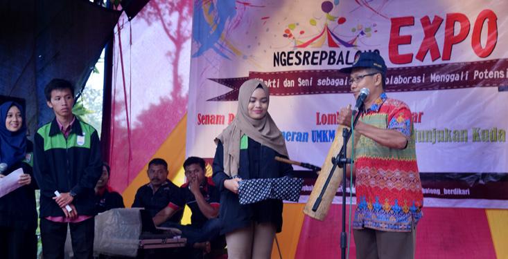 Mahasiswa KKN UNNES Adakan Ngesrepbalong Expo